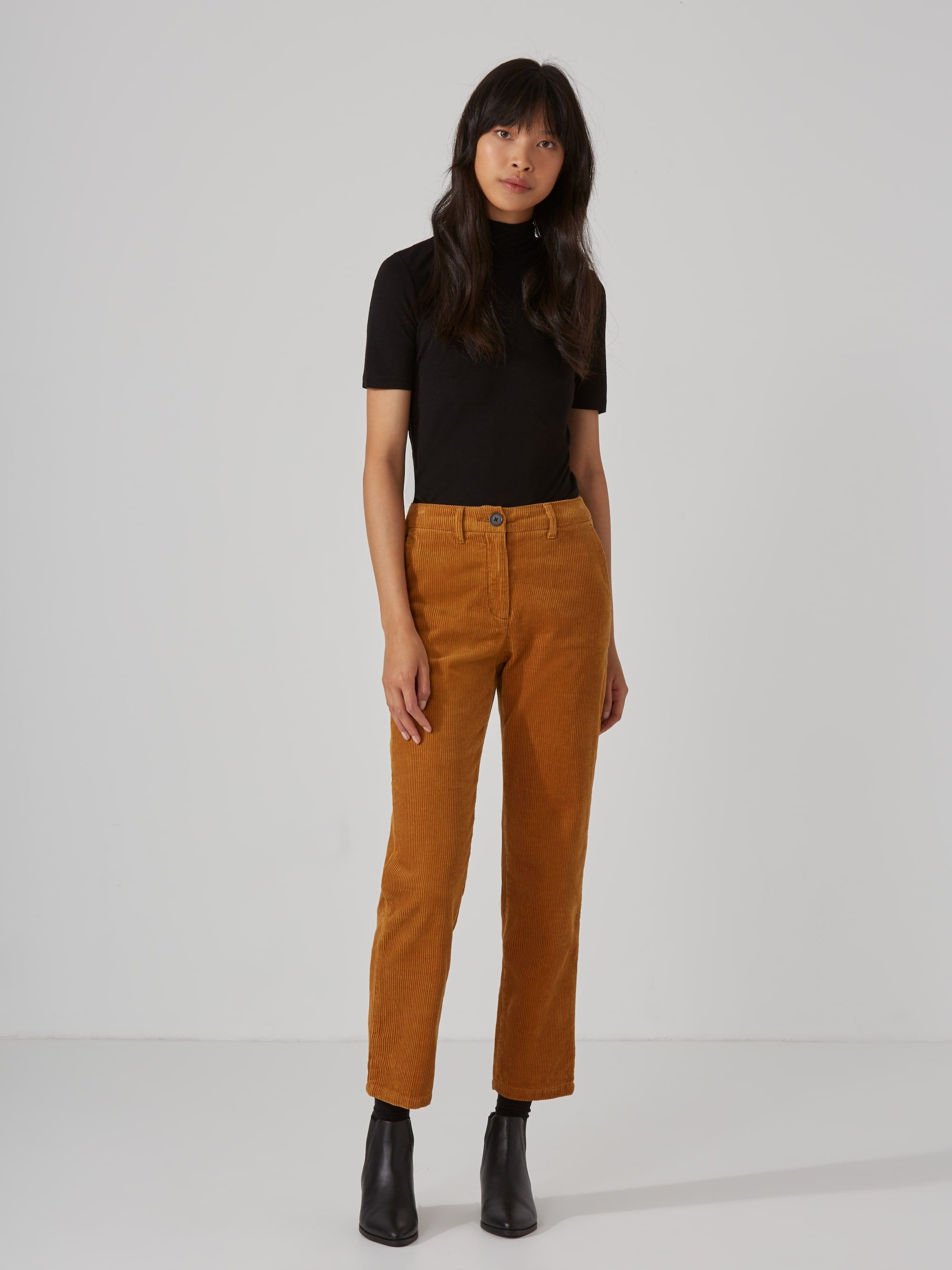 most reliable quality first factory outlets Cropped Corduroy Pant in Cathay Spice | Outfit ideas in 2019 ...