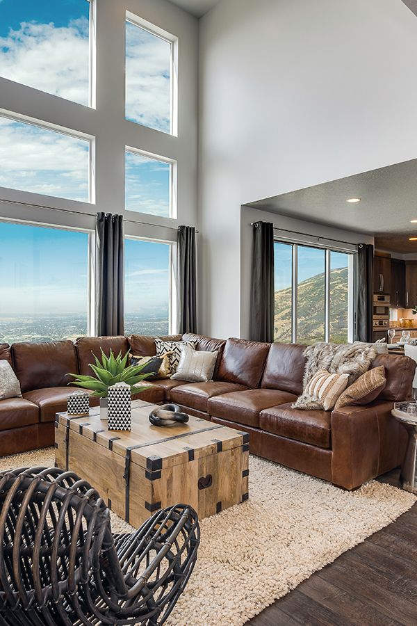 This mountain home is living life elevated. Beautiful mountain ...