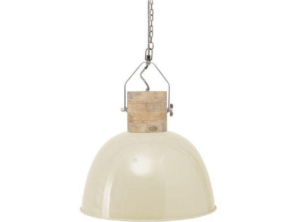 warehouse style lighting. Cream Metal Pendant Light | Warehouse Style Lighting A