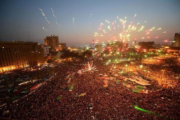 Fireworks Revolution Egypt Photo Egyptian History
