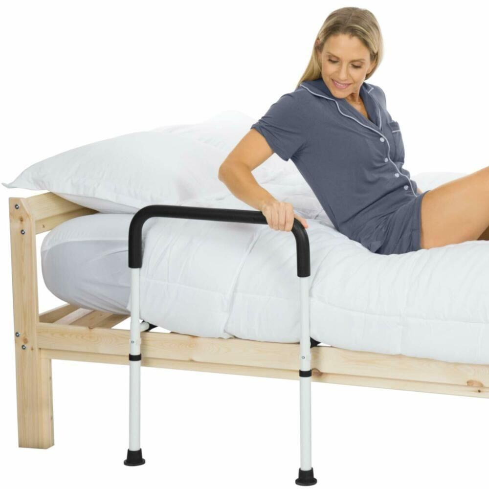 Best Bed Assist Rail *D*Lt Bedside Standing Bar For Seniors 400 x 300