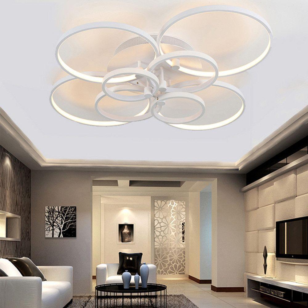 Modern Led Ceiling Lights For Living Room Bedroom