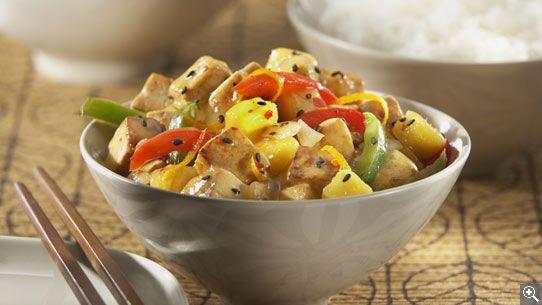 Tofu mandarin