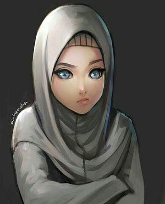 Gambar Kartun Muslimah Cantik Terbaru 2019 Gambar Gambar Kartun Kartun