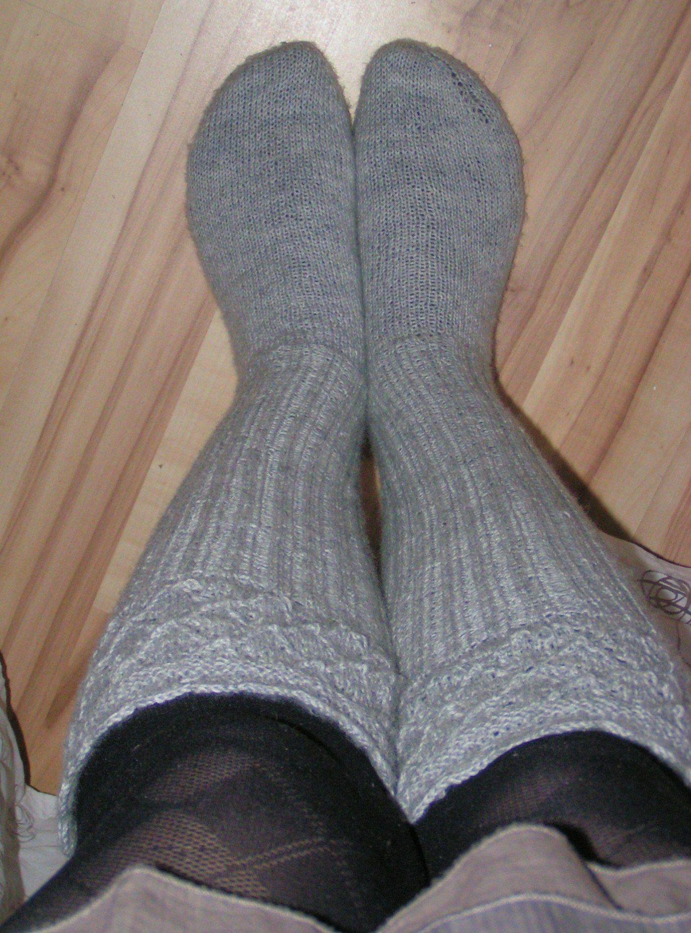 Meine Socken aus dem Buch betörende Maschen