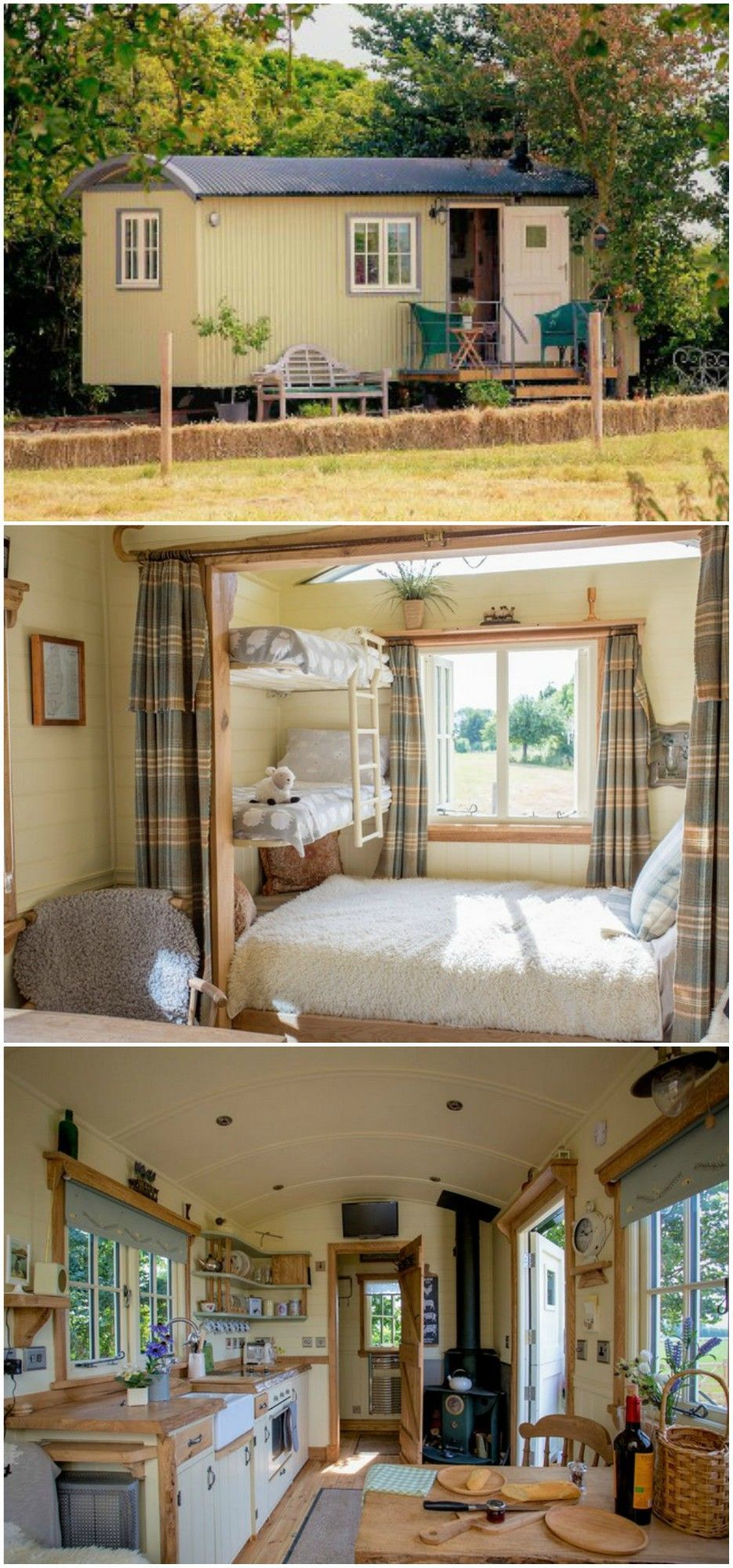 15 dreamy shepherd's huts you can rent #tinyhouse
