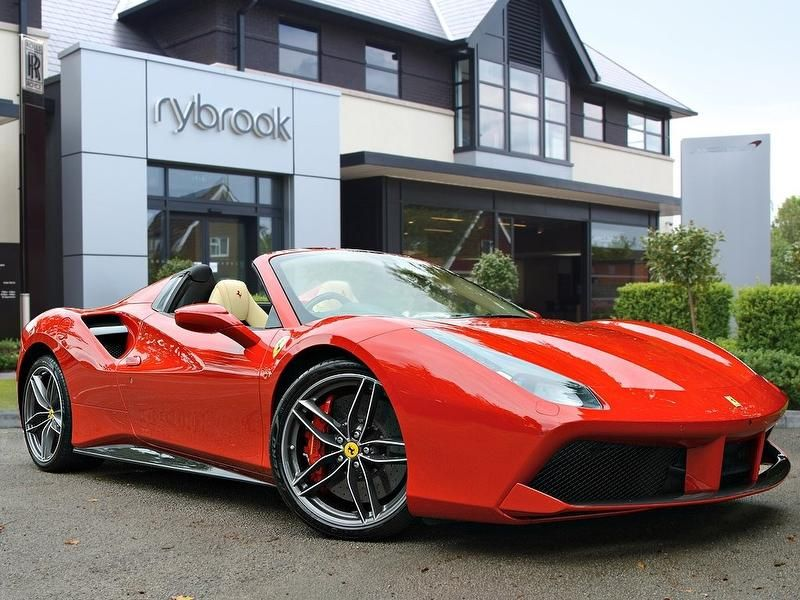 Used Ferrari 488 3 9 Spider 2dr Ferrari Dealership Ferrari Ferrari Car