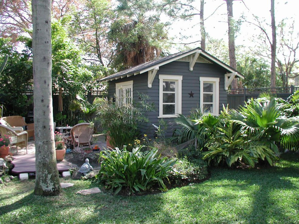 Hometalk :: 10'x14' home office shed by Historic Shed provides a dedicated private…