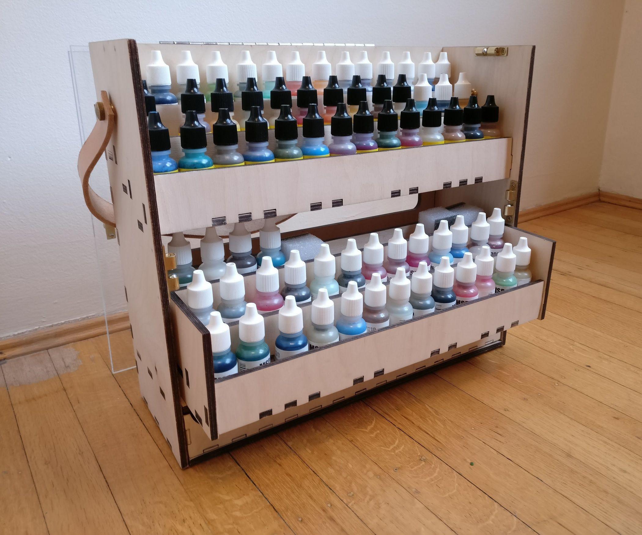 14++ Craft paint storage caddy ideas