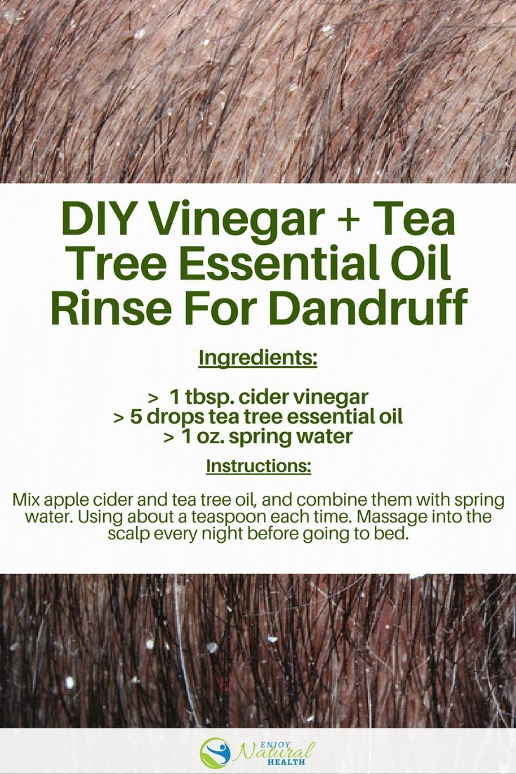 How To Use Tea Tree Oil For Dandruff (+ 2 Best Recipes