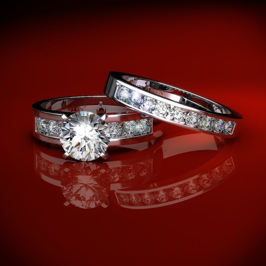 wedding rings | my wedding rings | pinterest | ring, engagement
