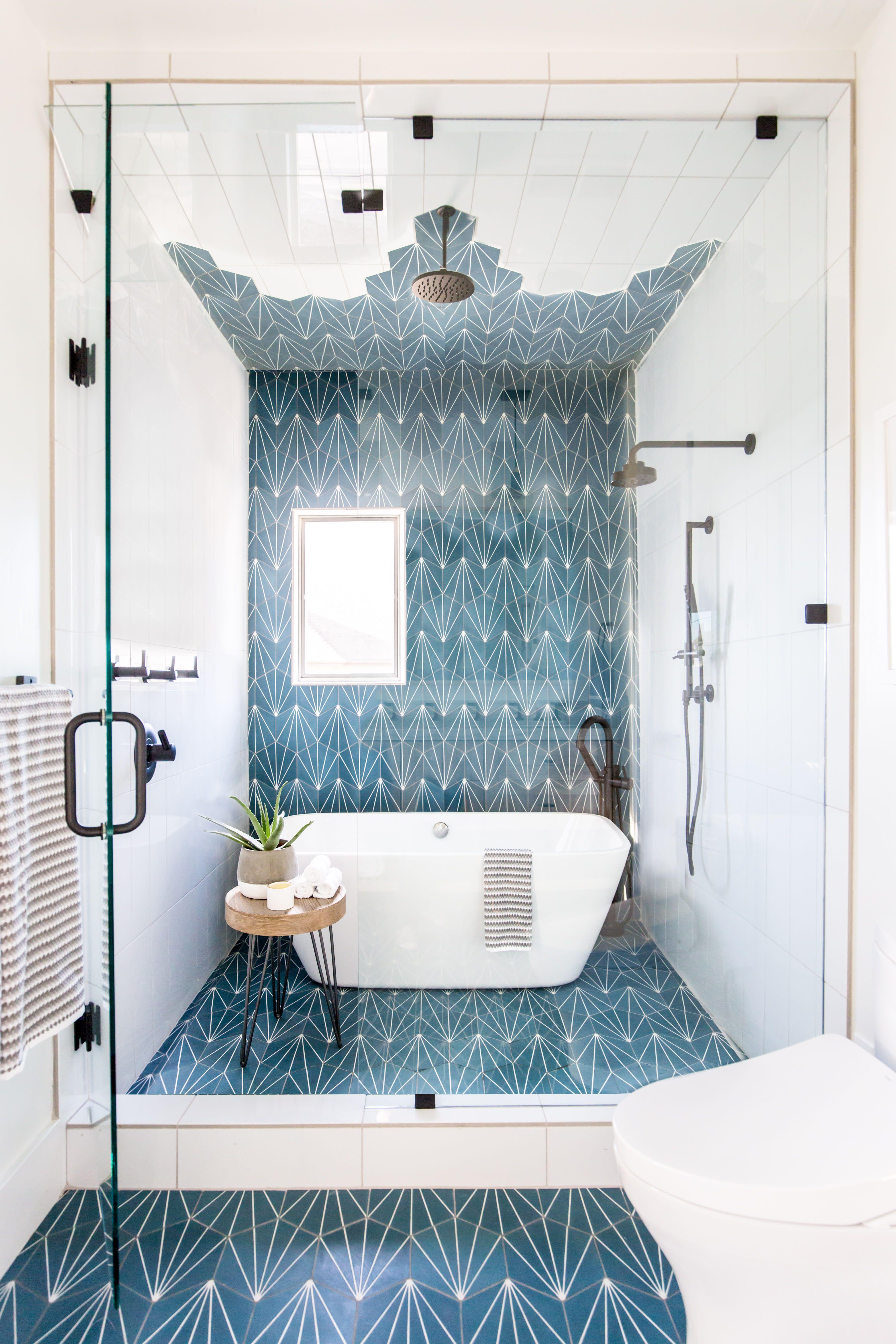 This Vibrant Jack And Jill Kids Bathroom Is Made For Sharing Bathroom Interior Design Bathroom Design Kids Bathroom Design