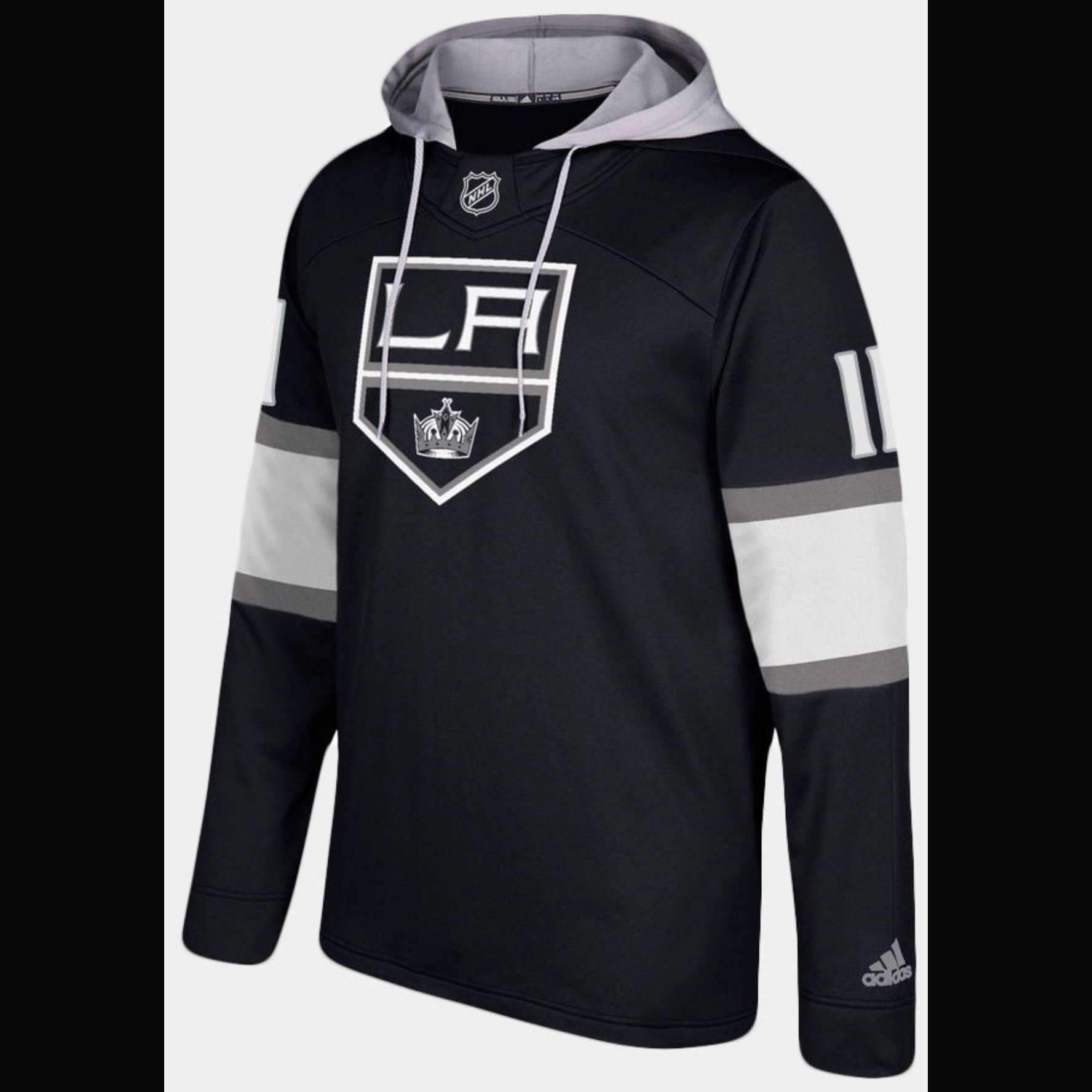 super popular bed2f 19077 LA Kings Adidas NHL Hockey Jersey Style Hoodie | Products ...