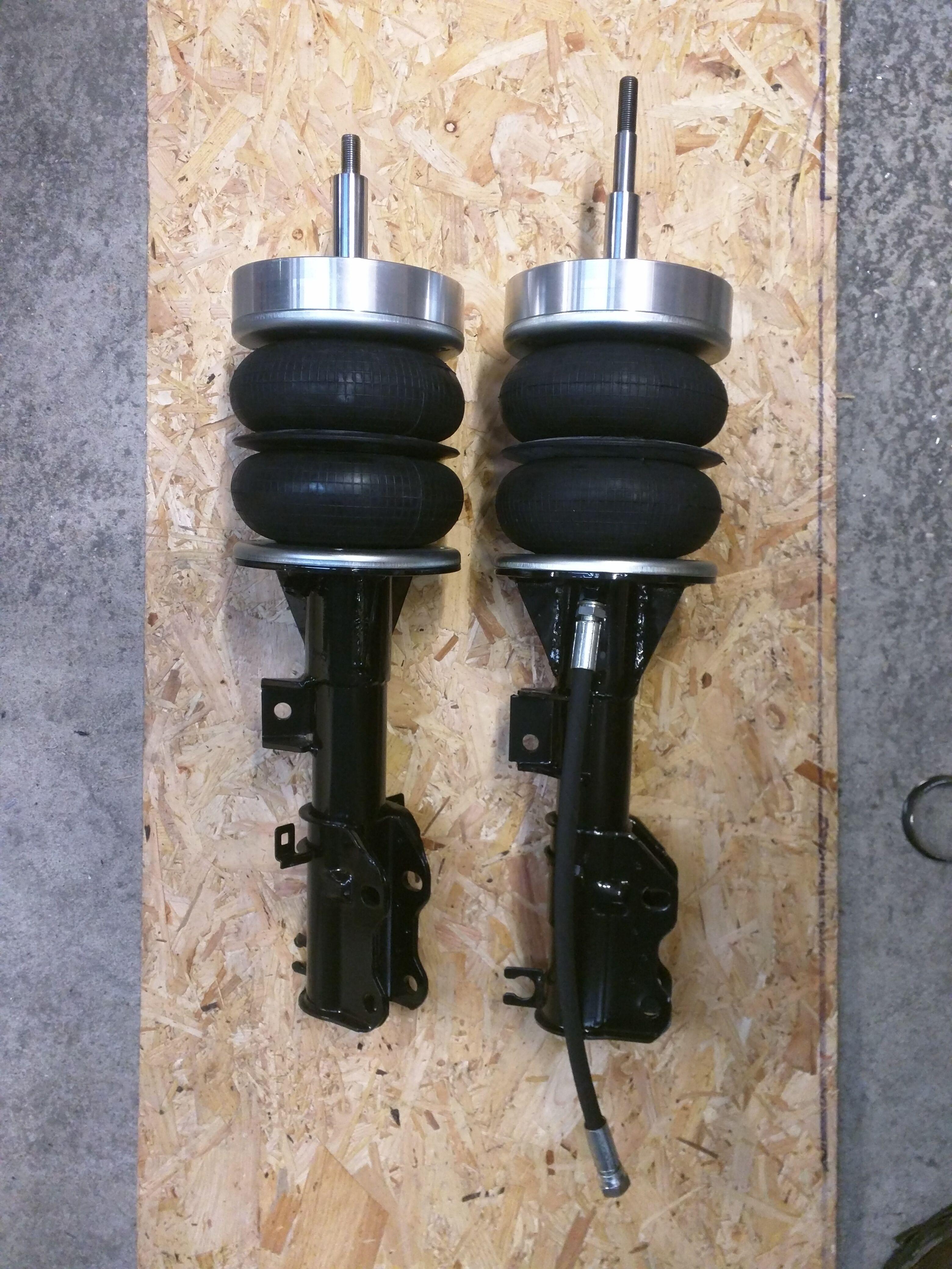 Mercedes Vito W639 front air suspension struts | UpDate SuM | The