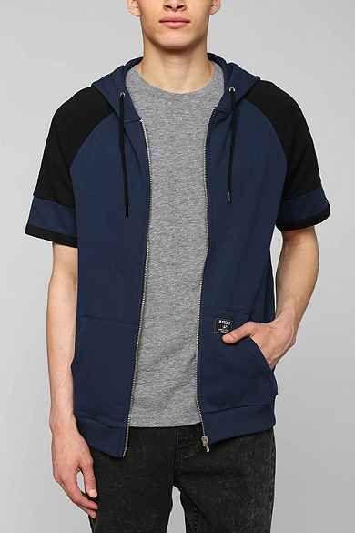 Short-Sleeve Zip-Up Hoodie Sweatshirt | Teen Boy | Pinterest