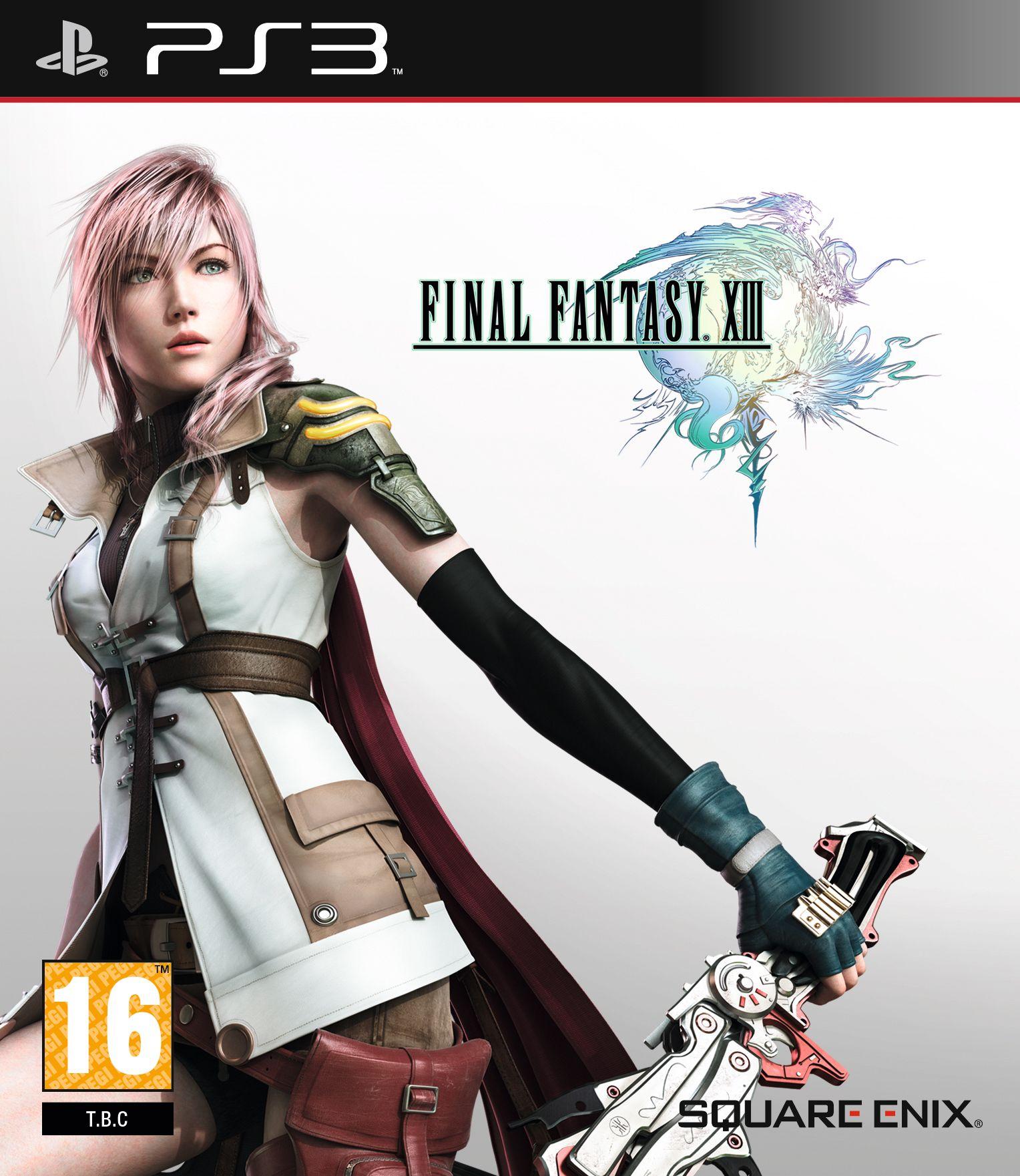 Box Art Final Fantasy Xiii Google Search Final Fantasy Final