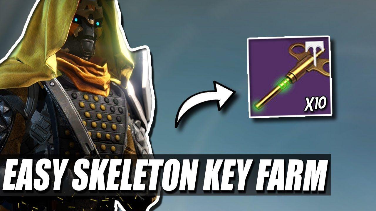 destiny how to farm skeleton keys 385 artifact a lot of people