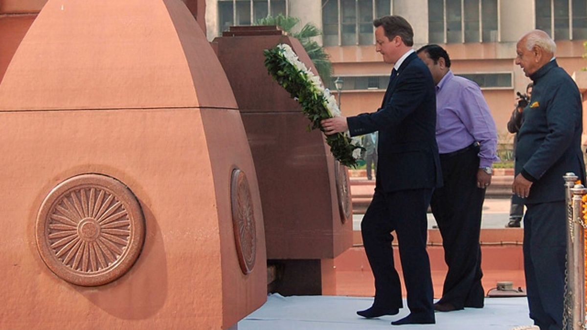First serving UK prime minister to visit scene of 1919 Indian shootings says it would be wrong to 'reach back' into history
