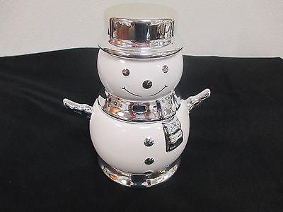 2008 Harry Slatkin Amp Co Snowman Winter Evergreen Scented