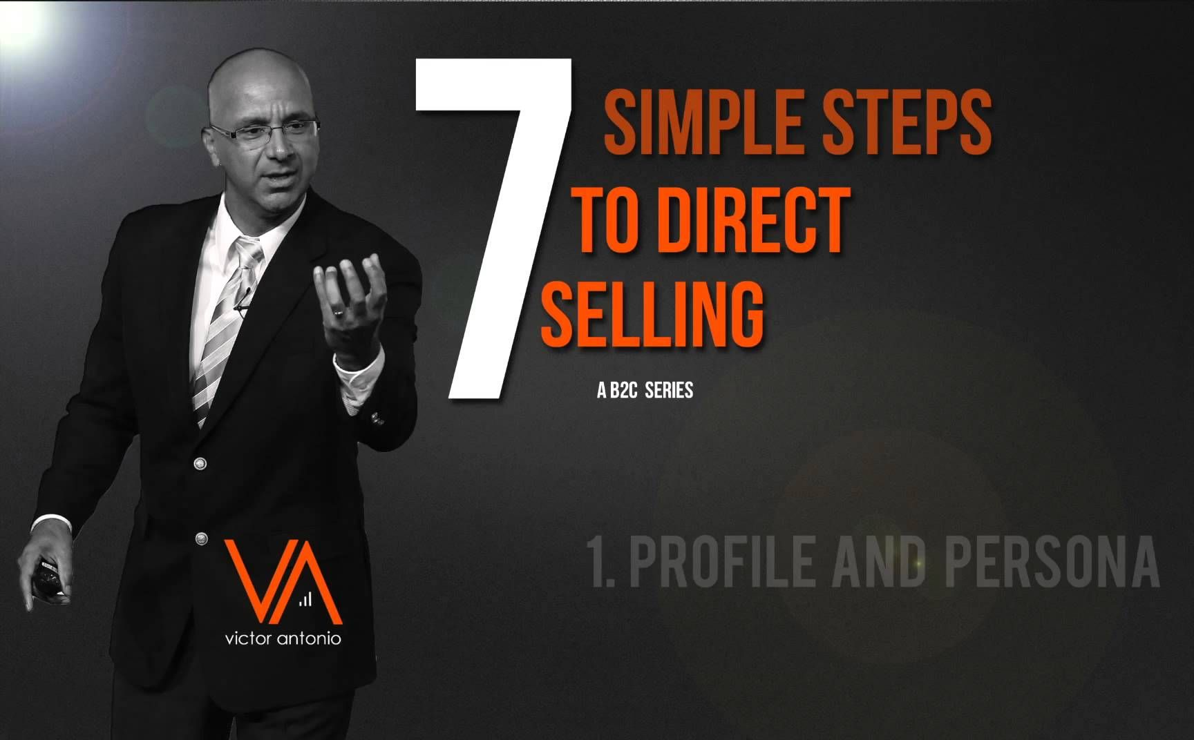 Direct Selling - Profile Your Customer #1.  How targeting the right client will allow you to shorten your sales cycle and increase your chances of closing the sale. #directselling #mlm #networkmarketing #salestips #howtosell