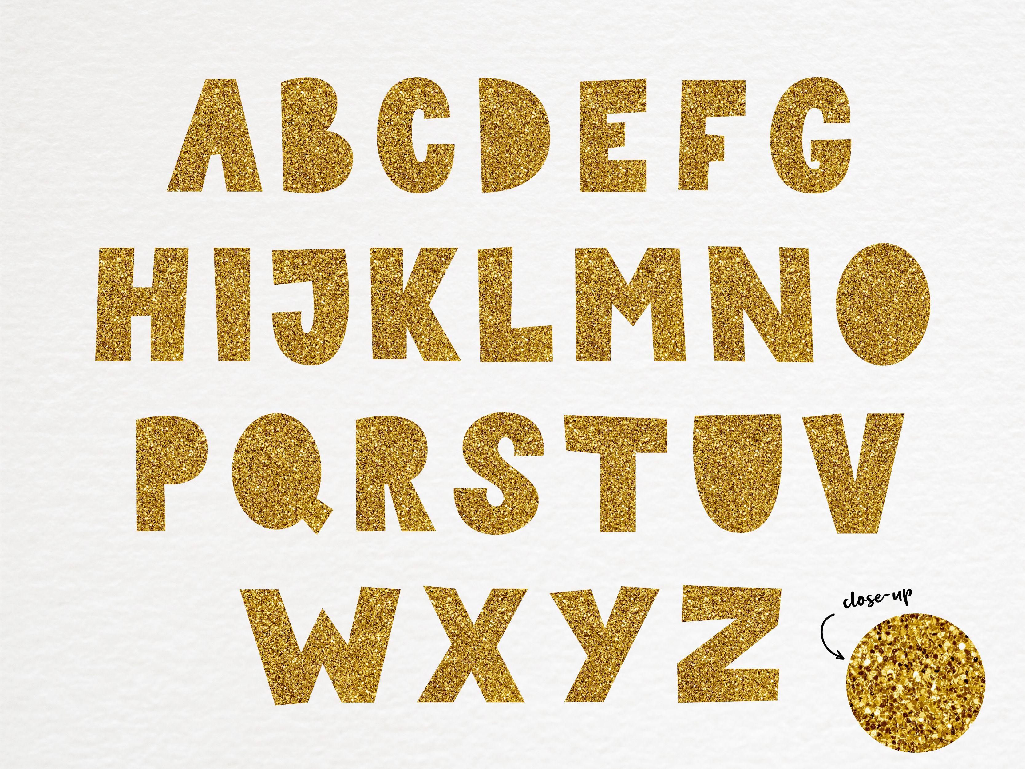 Rose Gold Glitter Alphabet Gold Glitter Letters Clipart And Etsy Glitter Letters Clip Art Digital Alphabet