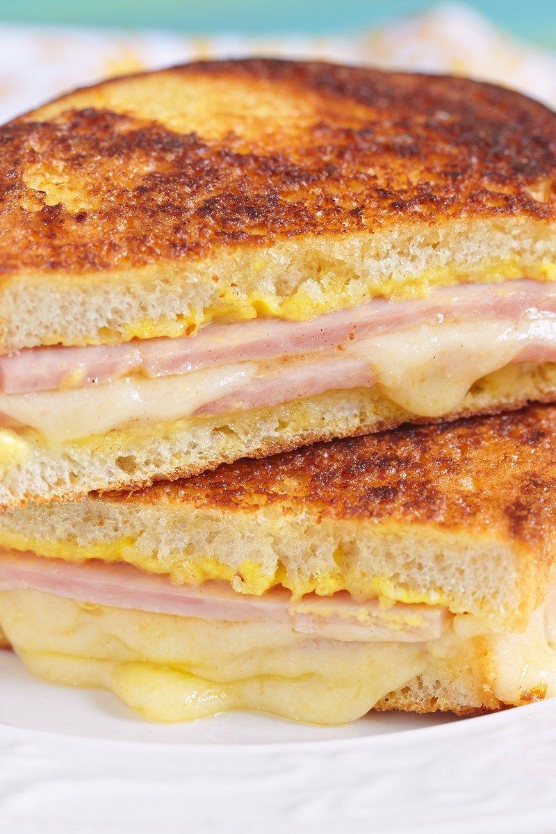 Weight Watchers Grilled Ham and Three Cheese Sandwich ...