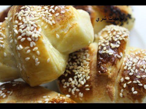 يوميات شري طريقة عمل معجنات لفائف بحشو الجبنه Food Arabic Food Desserts