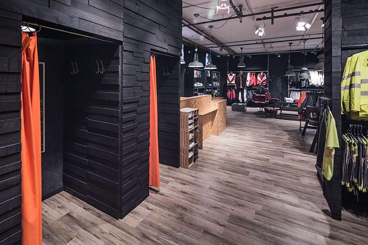 Design Entwicklung Shop Konzept Und Ladenkonzept Hatex Bekleidung