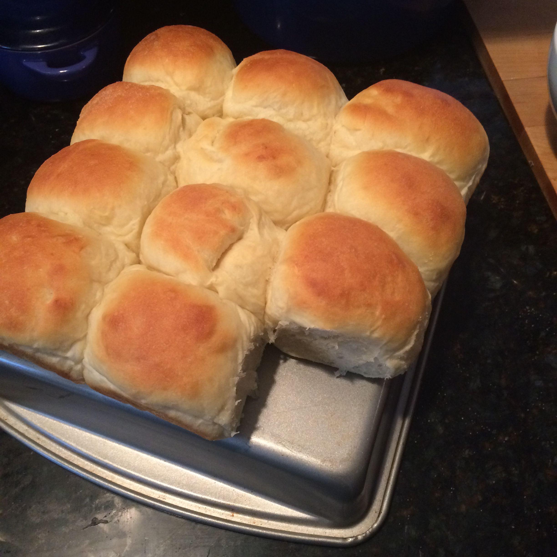 My homemade dinner rolls!!