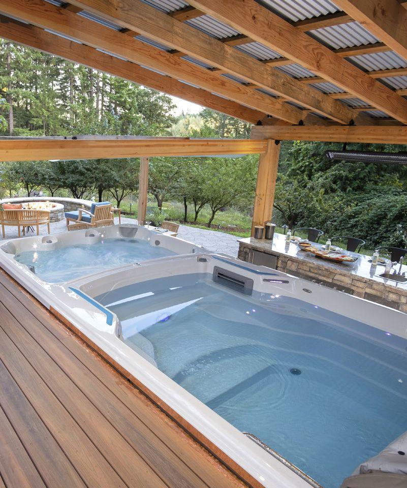 Swim Spa Backyard Ideas