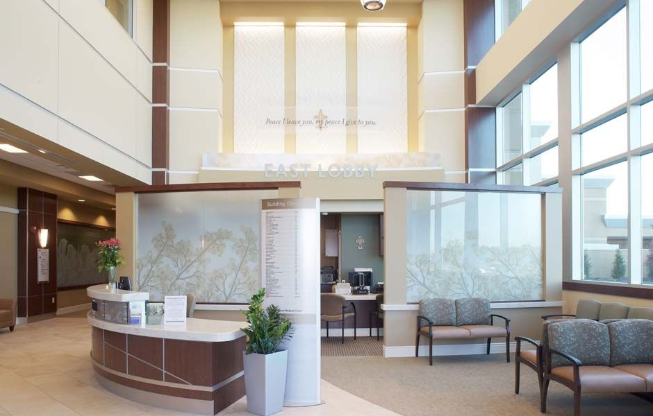 Mercy clayton and clarkson outpatient facility interior
