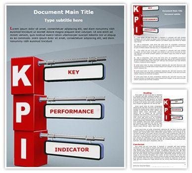 Download editabletemplates.com\'s cost-effective #KPI #Microsoft ...