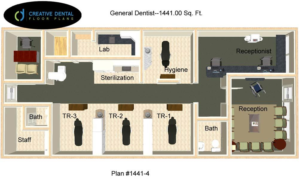 Creative Dental Floor Plans General Dentist Office Plans Pinterest Dental Office Floor