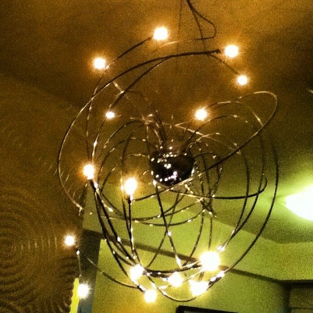 What a very interesting chandelier. Just like that, our paths are crossed and tangled to one another! xoxo