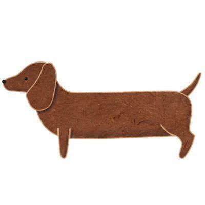 My Wonderful Walls Left-Facing Dachshund Dog Wall Decal