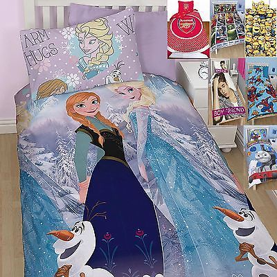 New boys girls disney character #single #double duvet set #bedding frozen princes,  View more on the LINK: 	http://www.zeppy.io/product/gb/2/231522407258/