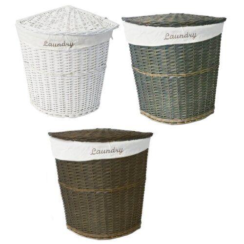 Waschekorb Lily Manor Laundry Hamper Corner Laundry Basket