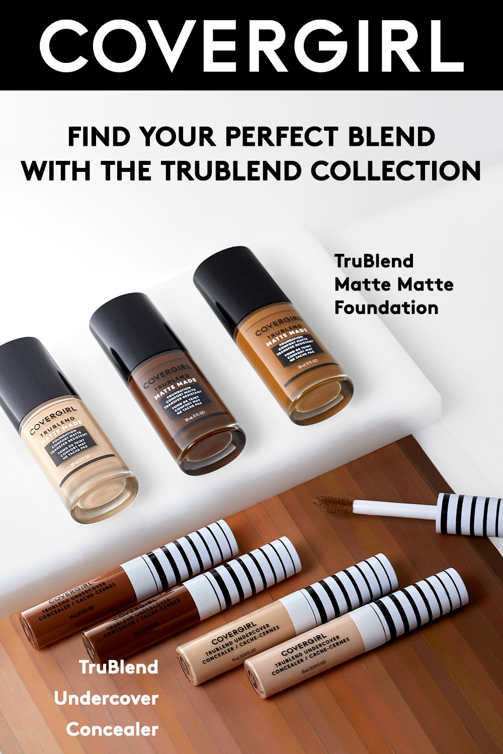Our Trublendmattemade Foundation Has A Transfer Resistant Formula