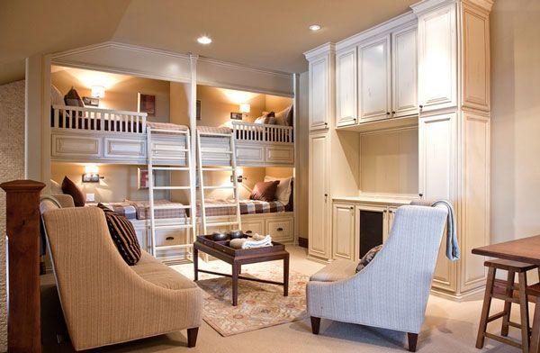 Superb Kinderzimmer mit Hochbett coole platzsparende Wohnideen