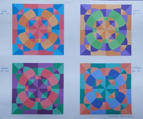 Split Complementary Tile Designs I Should Do This With Their Radial Name Basic Design Principles Split Complementary Color Scheme Complimentary Color Scheme