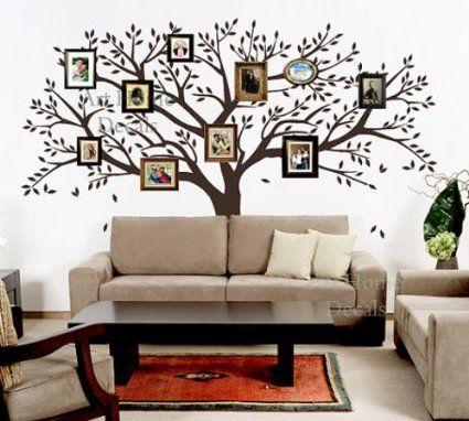 Family Photo Tree Wall Decor Wall Sticker