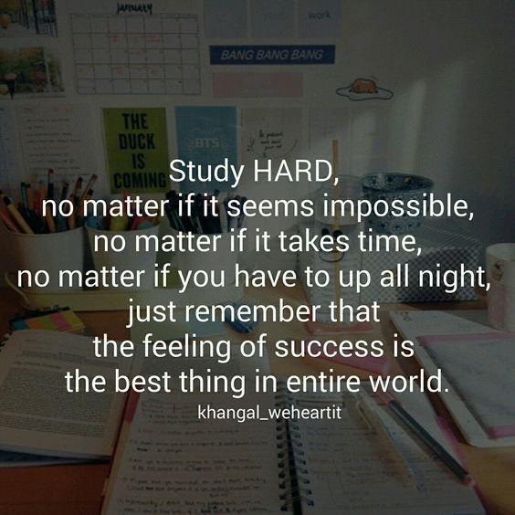 Study hard. #inspiration #inspire #motivate #motivation #study