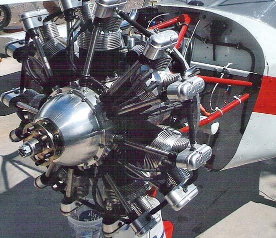 This 701 Is Powered By A Rotec Radial Engine Ron