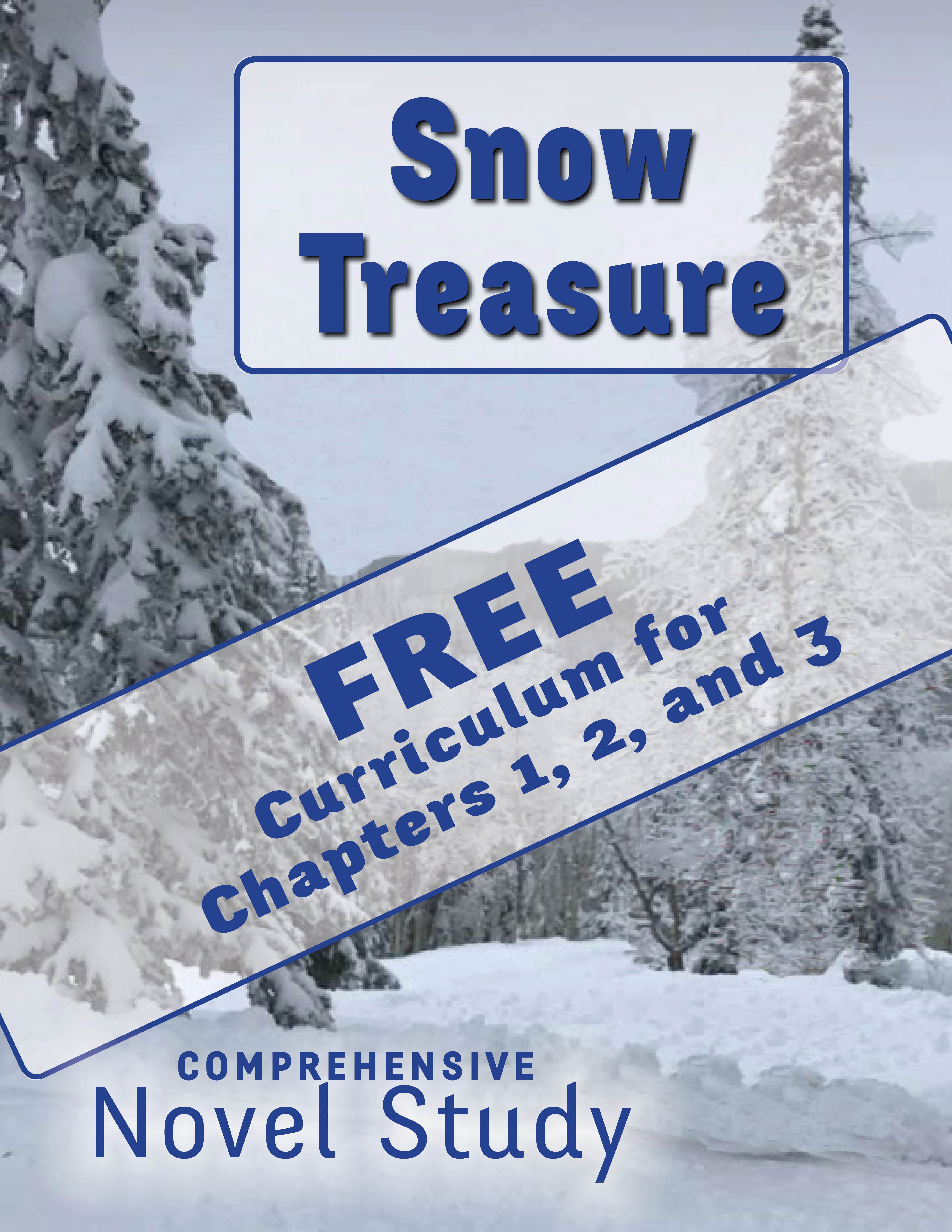 Snow Treasure Sl Free Curriculum For Chapters 1 2 And 3 Novel Studies Reading Passages Book Study [ 6600 x 5100 Pixel ]