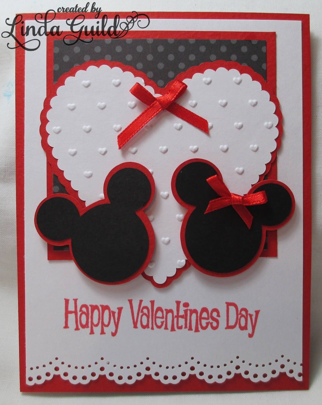 Mickey And Minnie Silhouette Card Minnie Mouse Valentine Cards Valentines Cards Valentine S Cards For Kids