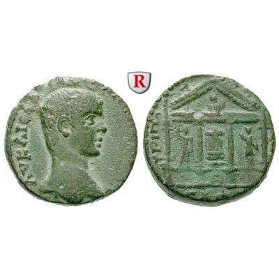 Römische Provinzialprägungen, Phönizien, Tripolis, Elagabal, Bronze 221-222 (=Jahr 533), vz: Phönizien, Tripolis. Bronze 22,5 mm… #coins