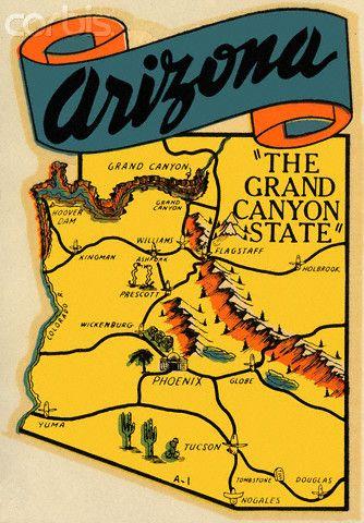 Arizona Travel Map