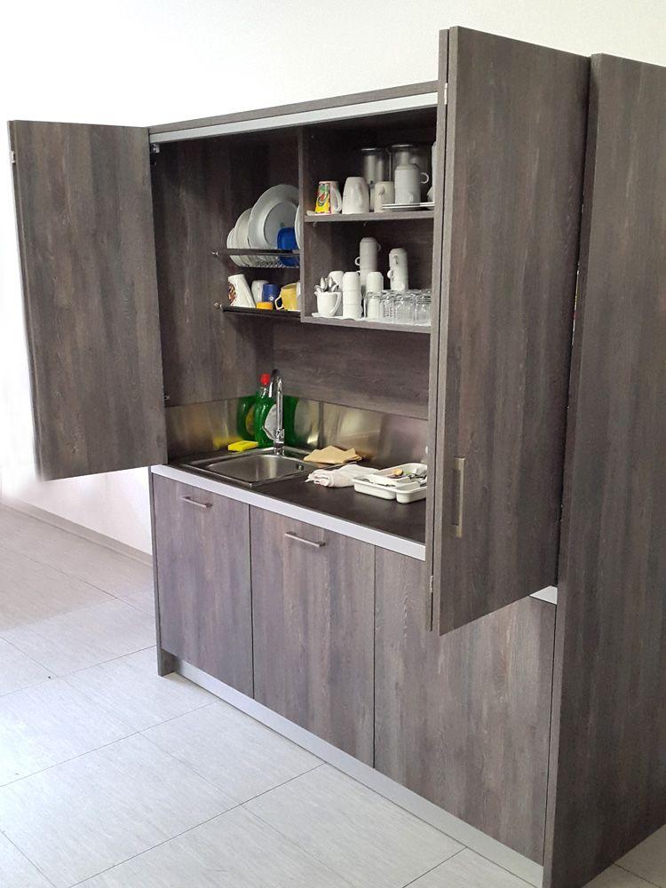 Cucina a scomparsa mono blocco - SizeDesign progetta soluzioni di ...