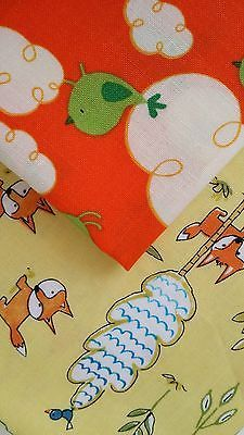 FREE* -BUY ONE BIRDIE FQ-GET FOXES FQ FREE * QUILTING