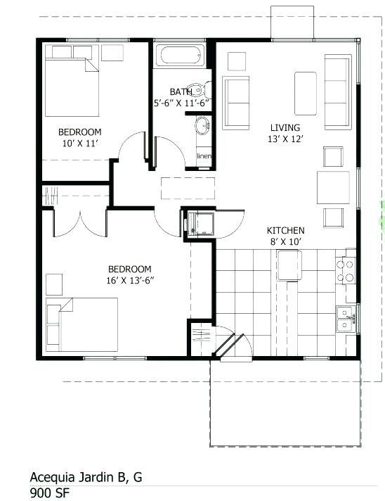 800 Sq Ft House Plan Indian Style New Best 800 Square Foot ...
